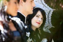 Het huwelijk van Fairytale Stock Foto's