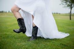Het huwelijk van het land Royalty-vrije Stock Foto's