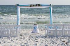 Het Huwelijk van het strand Royalty-vrije Stock Afbeelding