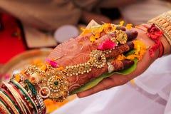 Het huwelijk van India - India Royalty-vrije Stock Afbeelding
