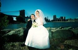 Het Huwelijk van New York Stock Foto's