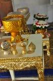 Het huwelijk van Thai Stock Foto