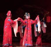 """Het huwelijk-verslag van de prinses van Zuidelijke boeg-Jiangxi opera""""four dromen van linchuan† Royalty-vrije Stock Fotografie"""