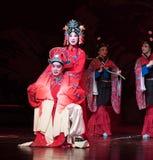 """Het huwelijk-verslag van de prinses van Zuidelijke boeg-Jiangxi opera""""four dromen van linchuan† Royalty-vrije Stock Foto"""