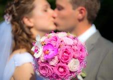 Het Huwelijksboeket royalty-vrije stock foto's