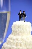 Het huwelijksconcept van de homosexueel of van het zelfde-geslacht. Royalty-vrije Stock Foto's