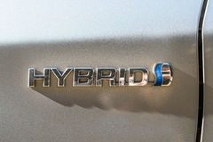 Het Hybride embleem van Toyota Prius Royalty-vrije Stock Afbeeldingen