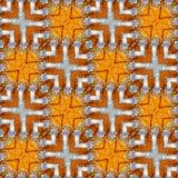 Het hydraulische Patroon van de Slangen Naadloze Textuur stock foto