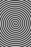 Het hypnotiseren stock illustratie
