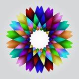 Het hypnotiseren van bloem Royalty-vrije Stock Afbeeldingen