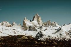 Het Iconische Onderstel FitzRoy in Patagonië Argentinië royalty-vrije stock foto