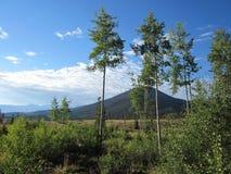 Het idealistische landschap van de Berg Stock Afbeeldingen