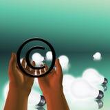 Het ideebescherming van het auteursrecht royalty-vrije illustratie