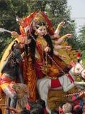 Het idool van godindurga Royalty-vrije Stock Fotografie