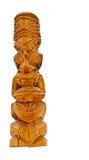 Het idool van Tiki stock foto