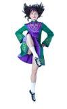 Het Ierse dansen Stock Foto's