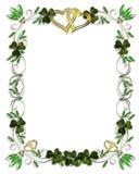 Het Ierse Malplaatje van het Huwelijk van de Grens Royalty-vrije Stock Foto