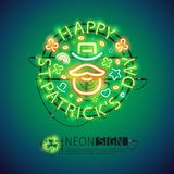 Het Ierse St Patricks Teken van het Dagneon Stock Foto's