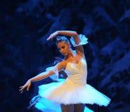 Het ijs en sneeuwt de elf-eerste handeling van het vierde Land van de gebiedssneeuw - de Balletnotekraker royalty-vrije stock afbeeldingen