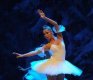 Het ijs en sneeuwt de elf-eerste handeling van het vierde Land van de gebiedssneeuw - de Balletnotekraker royalty-vrije stock foto's