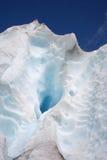 Het ijs van de gletsjer Royalty-vrije Stock Fotografie