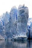 Het ijs van de gletsjer Stock Foto