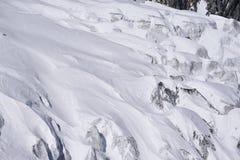 Het ijs van de gletsjer Royalty-vrije Stock Foto's