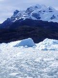 Het Ijs van de gletsjer, Zuidelijk Chili Stock Foto's