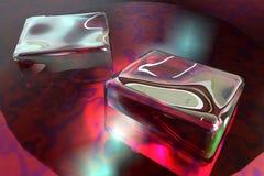 Het ijs van kubussen vector illustratie