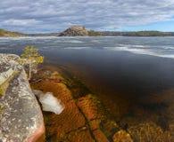 Het ijs van Ladoga Royalty-vrije Stock Fotografie