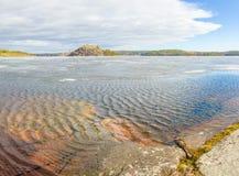 Het ijs van Ladoga Royalty-vrije Stock Foto