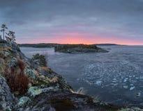 Het ijs van Ladoga Royalty-vrije Stock Afbeelding