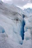 Het ijs van Perito Moreno van de gletsjer Stock Foto
