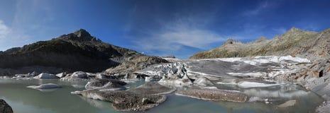 Rhoneglacier Stock Afbeeldingen