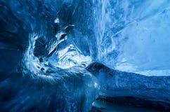 Het Ijshol van IJsland stock afbeeldingen