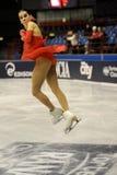 Het ijsschaatser van Valentina Marchei bij het Feest van het Ijs van 2010 Stock Foto