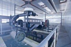 Het ijzer en het staal worden beschermd door hete te galvaniseren stock afbeelding