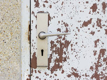 Het ijzer van de deur Royalty-vrije Stock Fotografie
