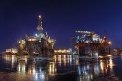 Het Imperium van de olie Stock Foto's