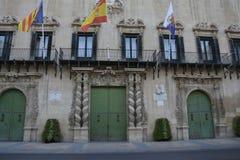 Het inbouwen van Alicante Royalty-vrije Stock Afbeelding