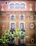 Het inbouwen van Barcelona Stock Foto's