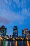 Het inbouwen van centrum van Bangkok Royalty-vrije Stock Fotografie