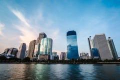 Het inbouwen van centrum van Bangkok Royalty-vrije Stock Foto