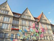 Het inbouwen van de oude stad münchen duitsland Royalty-vrije Stock Afbeeldingen