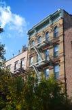 Het inbouwen van de Stad van New York Stock Foto's