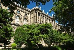 Het inbouwen van het centrum van Wenen Stock Foto's