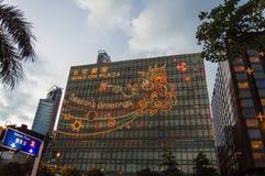 Het inbouwen van Hongkong royalty-vrije stock foto