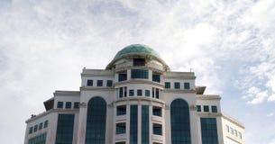 Het inbouwen van Kuching Sarawak stock afbeelding