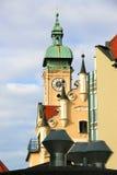 Het inbouwen van München Royalty-vrije Stock Foto