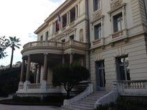 Het inbouwen van Nice, Frankrijk Stock Afbeeldingen
